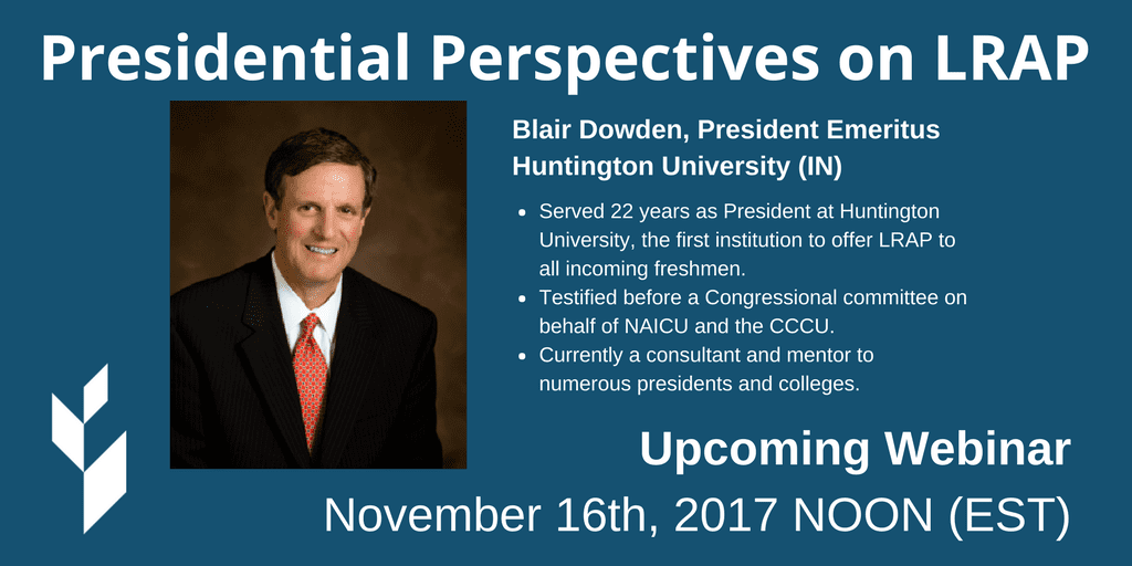 Presidential Perspectives on LRAP Webinar