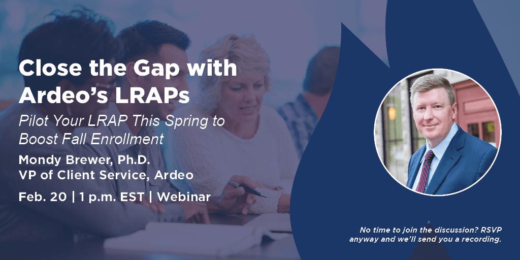 Close the Gap with LRAPs February Webinar