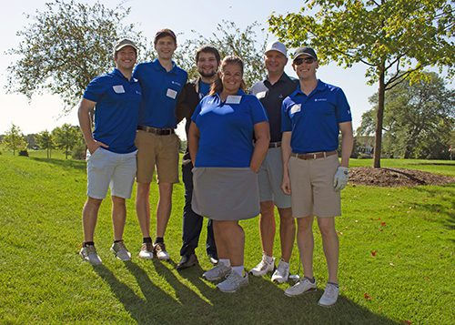 Ardeo Employees at Companies That Care Golf Outing