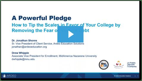 A Powerful Pledge webinar play button